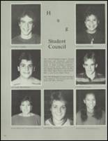 1984 Washington Township High School Yearbook Page 166 & 167