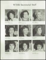 1984 Washington Township High School Yearbook Page 200 & 201
