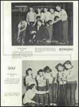 1956 Clarkstown High School Yearbook Page 84 & 85