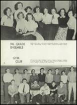 1956 Clarkstown High School Yearbook Page 94 & 95