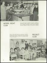 1956 Clarkstown High School Yearbook Page 100 & 101