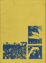 1973 Yearbook Decatur High School