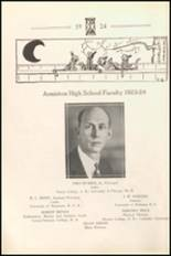 1924 Anniston High School Yearbook Page 12 & 13