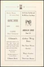 1924 Anniston High School Yearbook Page 116 & 117