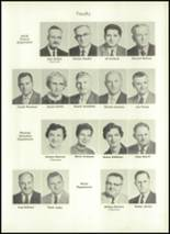 1957 Eastern High School Yearbook Page 10 & 11