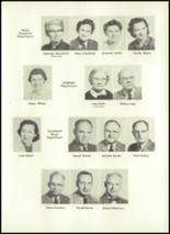 1957 Eastern High School Yearbook Page 14 & 15