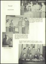 1957 Eastern High School Yearbook Page 16 & 17