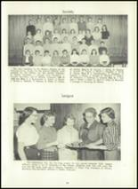 1957 Eastern High School Yearbook Page 18 & 19