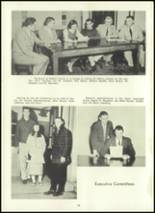 1957 Eastern High School Yearbook Page 20 & 21