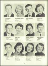 1957 Eastern High School Yearbook Page 24 & 25