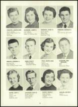 1957 Eastern High School Yearbook Page 34 & 35