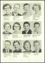 1957 Eastern High School Yearbook Page 36 & 37