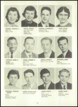 1957 Eastern High School Yearbook Page 38 & 39