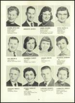 1957 Eastern High School Yearbook Page 40 & 41