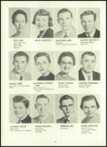 1957 Eastern High School Yearbook Page 42 & 43