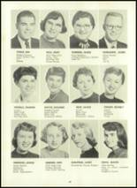 1957 Eastern High School Yearbook Page 44 & 45