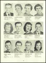 1957 Eastern High School Yearbook Page 54 & 55