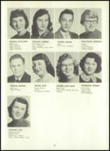 1957 Eastern High School Yearbook Page 56 & 57