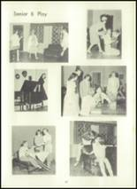 1957 Eastern High School Yearbook Page 70 & 71