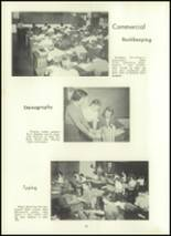 1957 Eastern High School Yearbook Page 82 & 83