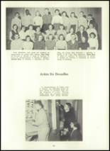 1957 Eastern High School Yearbook Page 96 & 97