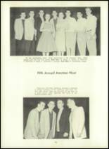 1957 Eastern High School Yearbook Page 100 & 101