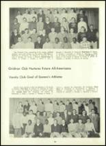 1957 Eastern High School Yearbook Page 102 & 103