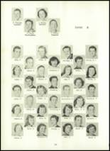 1957 Eastern High School Yearbook Page 134 & 135