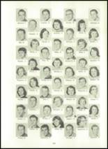 1957 Eastern High School Yearbook Page 136 & 137