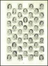 1957 Eastern High School Yearbook Page 154 & 155
