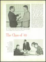 1963 Thomas Jefferson High School Yearbook Page 24 & 25
