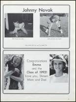 1992 Metuchen High School Yearbook Page 160 & 161