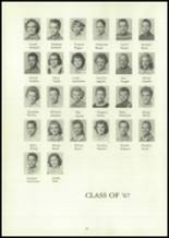 1962 Coalmont High School Yearbook Page 34 & 35
