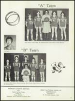 1980 Bluffs High School Yearbook Page 76 & 77