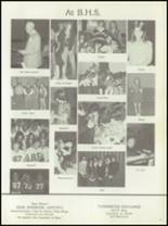 1980 Bluffs High School Yearbook Page 80 & 81