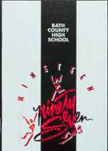 1997 Yearbook Bath County High School