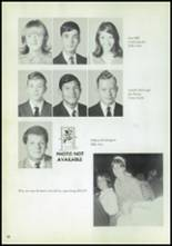 1970 Eula High School Yearbook Page 32 & 33
