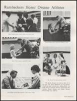 1982 Owasso High School Yearbook Page 126 & 127