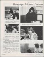 1982 Owasso High School Yearbook Page 142 & 143