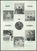 1962 Reeseville High School Yearbook Page 20 & 21