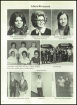 1975 Washington High School Yearbook Page 10 & 11