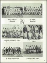 1975 Washington High School Yearbook Page 52 & 53