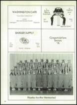 1975 Washington High School Yearbook Page 108 & 109