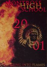 2001 Yearbook Montrose High School