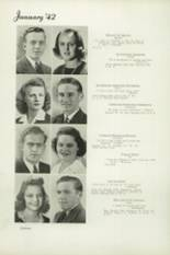 1942 Beaumont High School Yearbook Page 22 & 23