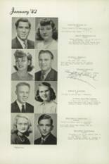 1942 Beaumont High School Yearbook Page 38 & 39
