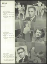 1950 Bryan High School Yearbook Page 16 & 17