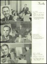 1950 Bryan High School Yearbook Page 18 & 19