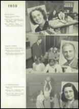 1950 Bryan High School Yearbook Page 20 & 21