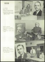 1950 Bryan High School Yearbook Page 22 & 23